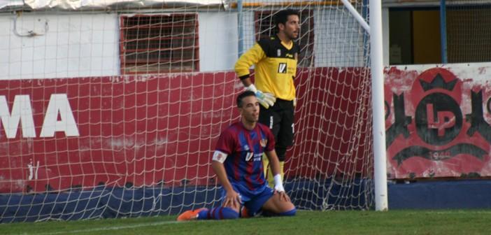 Chino, tras batir a Lalo en propia / Foto: Á. Ayala.