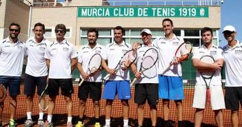 Plantilla UCAM Tenis