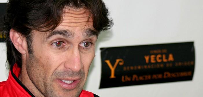 Tomi explica su visión del partido en sala de prensa / Á. Ayala