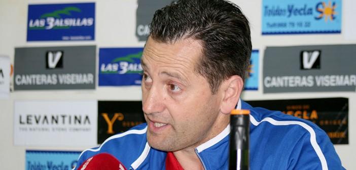 Juan Moreno, en sala de prensa / Á. Ayala