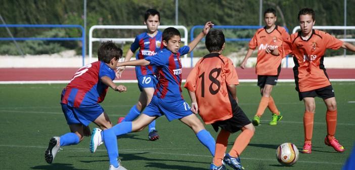 Instante del partido entre Cehegín y Alevín A / Pascual Aguilera