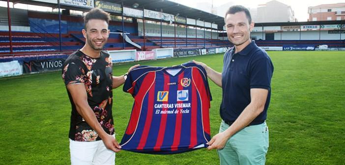 Chino y Pedro Romero, con la camiseta de aquella temporada 2009/2010 / Á. Ayala