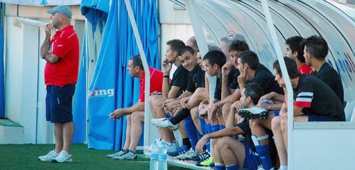 Sanjuán, en su anterior etapa en el Yeclano Deportivo / P. Aguilera