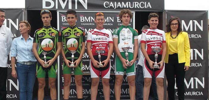 Campoy y Polo, en el podio / CCY
