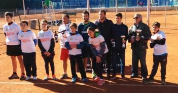 Alonso, en el cuadro de honor del torneo en Churra