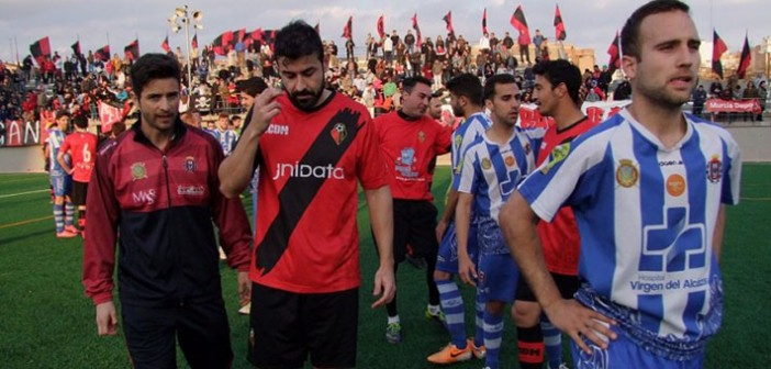 Jugadores del Ciudad y del Lorca, contrariados con la situación / LorcaTodoDeporte.es