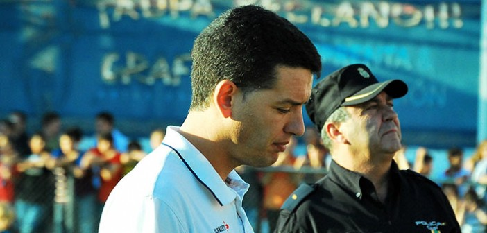 Sandroni, durante el Yeclano-Haro de 2010 / P. Aguilera