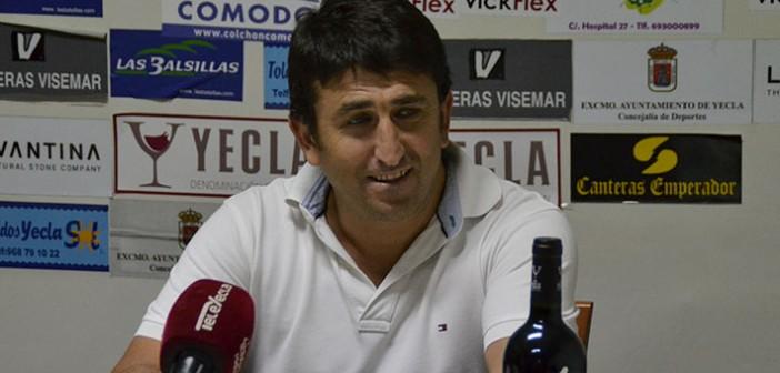 Bernal, en sala de prensa / I. Azorín