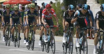 La Vuelta a España, a su paso por Yecla el pasado 2017 / Archivo / Foto: I. Azorín