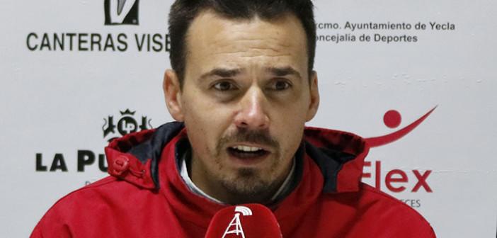 Victor Pagan Entrenador Olimpico Totana Futbol