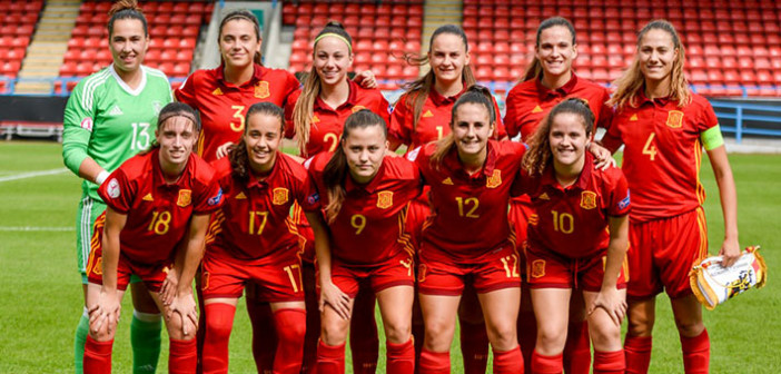 Foto: Selección Española Femenina de Fútbol/Facebook
