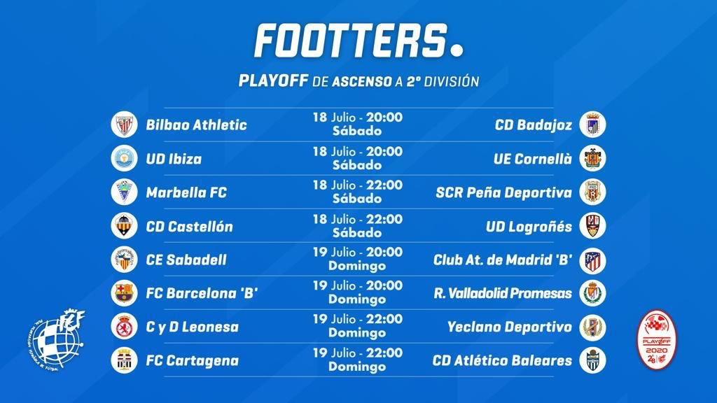 YeclaSport_Horarios_playoff_footters