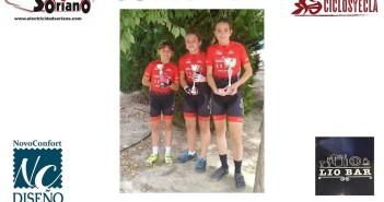 Empieza el ciclocroos para la Escuela ciclista Yecla del Club ciclista Altiplano
